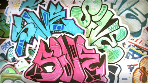 SIVE Graffiti Stickers and Giveaway - YouTube