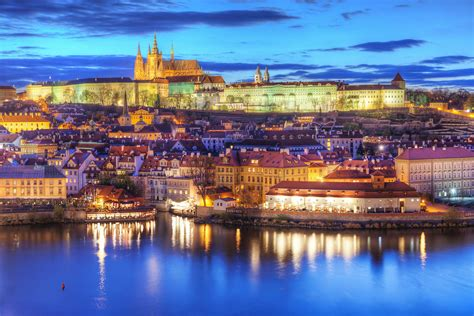 Colorful Prague | A nice colorful view of the Prague