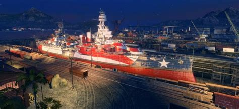 World of Warships Is Out To Save The Real USS Texas With