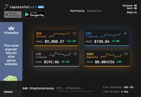 17 Free Online Cryptocurrency Tracker Websites