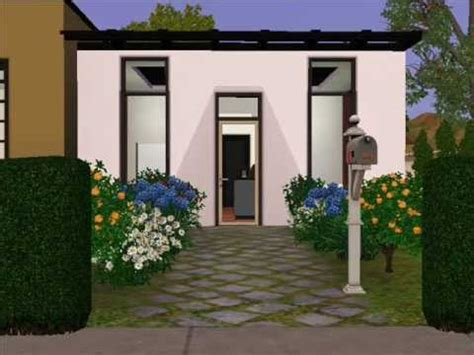 The Sims 3 Design - Ultra Modern Small House - YouTube
