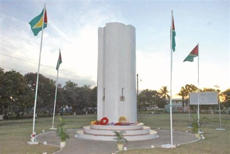 Enmore Martyrs remembered | Guyana Times