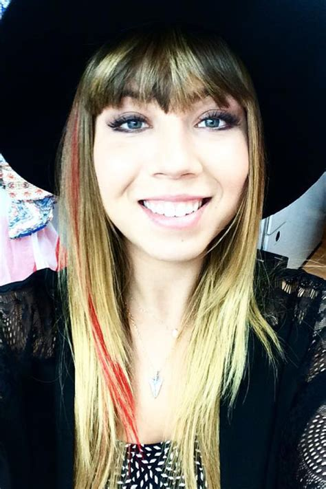 Jennette McCurdy Straight Medium Brown All-Over Highlights