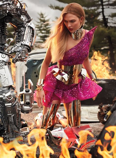 INSTYLE MAGAZINE: Karlie Kloss by Carter Smith – Image