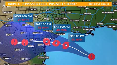 Tropical Storm Watch issued for much of the Texas coast