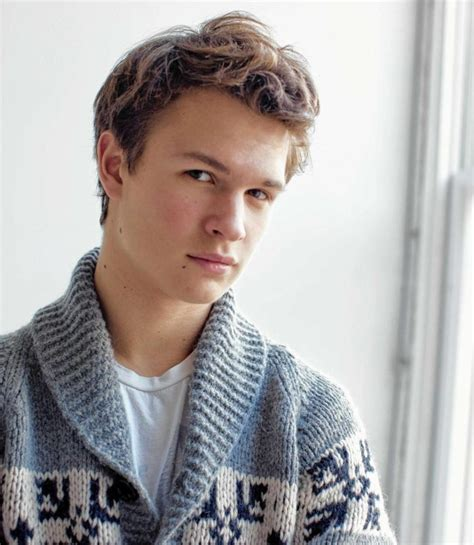 Ansel Elgort - Celebrity Weight, Height and Age