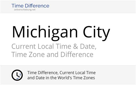 Current Local Time in Michigan City, United States