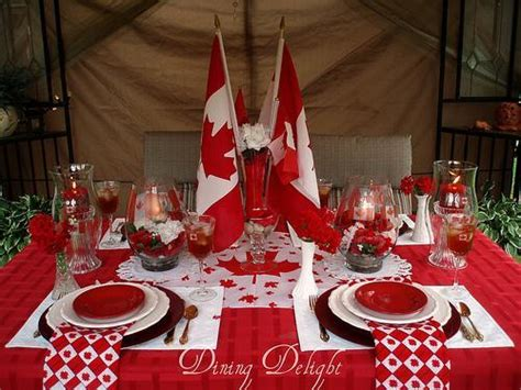 50 Canada Day Table Decorations, Centerpieces and Summer